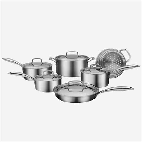 piece professional series  ply cookware set ca