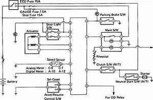 Cruise Control System Wiring Diagram