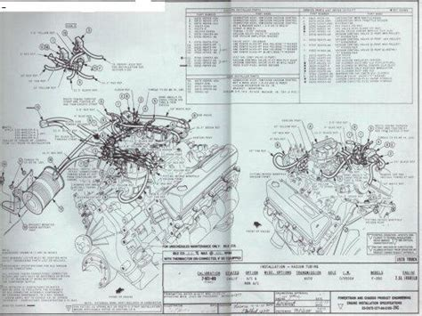 1975 F100 302 Engine Diagram by Emissions And Vacuum Diagram For 1978 F350 Ford Truck