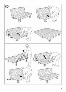 ikea futon instructions bm furnititure With ikea sofa bed assembly