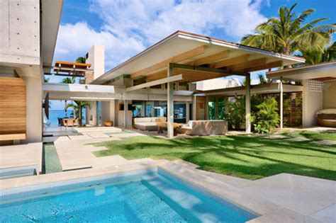 Tropical Home : Dream Tropical House Design In Maui By Pete Bossley