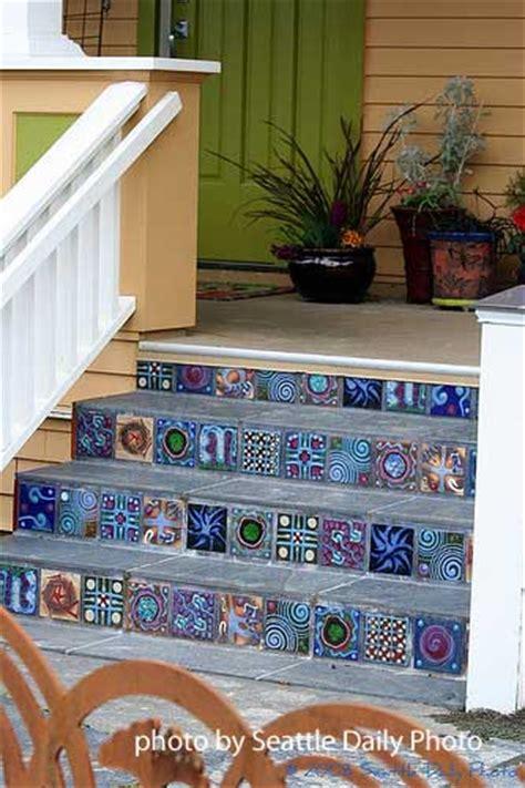 Tile Front Porch Concrete Steps