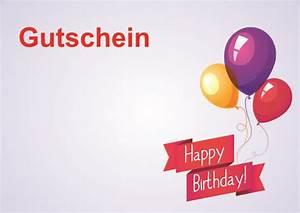 Gutschein Muster Geburtstag : geburtstagsgutschein zum ausdrucken kostenlos ~ Markanthonyermac.com Haus und Dekorationen