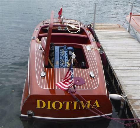 Hammondsport Ny Antique Boat Show by Boats Of The 40 S Antique And Classic Featured In Wine