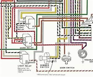 Porsche U00ae 1956-1959 Wiring Diagram Poster