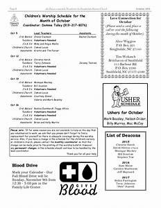 Knightdale Baptist Church October 2014 newsletter