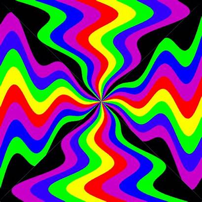 Rainbow Optical Giphy Cool Illusions Illusion Gifs