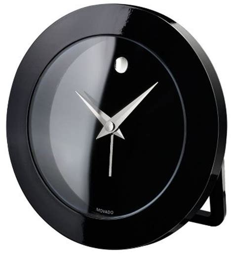 Movado Desk Clock by Minimalist Movado Clock