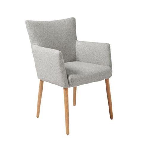 chaise en tissu chaise de salle à manger nellie en tissu avec acco achat