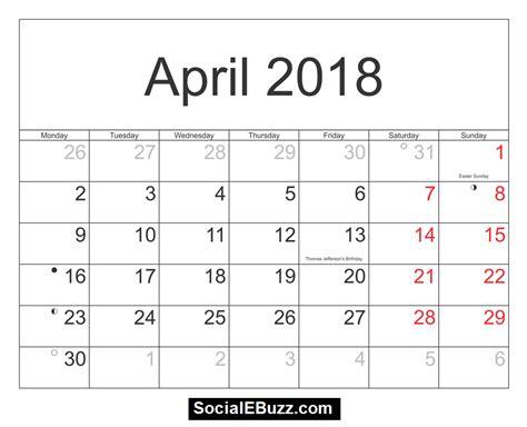 april si e social calendar 2018 april pertamini co