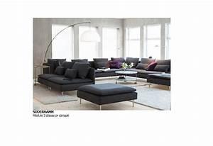 ikea cana pe soderhamn couleur insuda gris canapes With tapis de couloir avec canapé d angle poltronesofa prix
