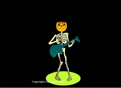 Halloween Skeleton Clipart Animated Dancing Cc Cartoon