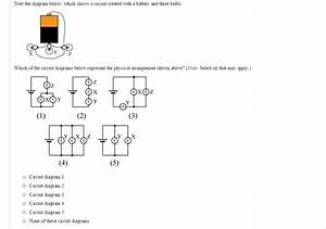 Solved  - Note The Diagram Below  Which Shows A Circuit Created With