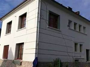 Reparation Fissure Facade Maison : vid o r parer fissure d 39 un mur youtube ~ Premium-room.com Idées de Décoration