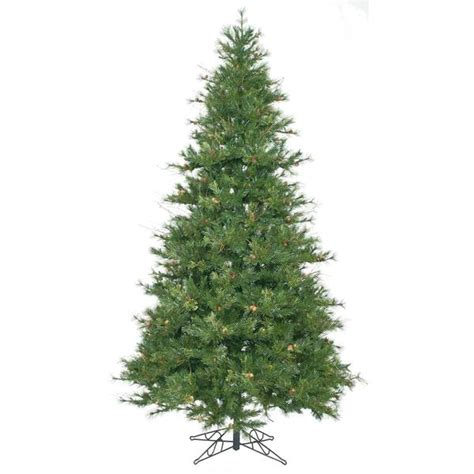 Unlit Artificial Christmas Trees Target by 9 Vickerman A801680 Mixed Country Tree Green Christmas Tree