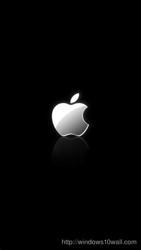 Apple Logo Iphone Black Wallpaper Hd by Iphone Windows 10 Wallpapers