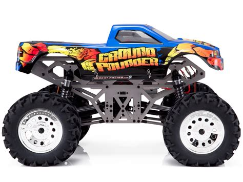 monster jam rc trucks for sale redcat racing ground pounder 1 10 scale brushed monster