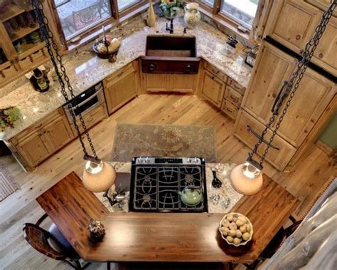 modele de cuisine avec ilot la cuisine arrondie dans 41 photos pleines d 39 idées