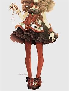anime girl, cute, dress, kawaii - image #713132 on Favim.com