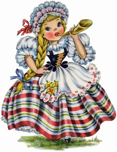 Doll Swiss Retro Dolls Paper Fairy Pretty