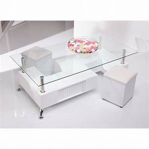 Coffee Table: Lift up Modern White And Glass Coffee Table ...