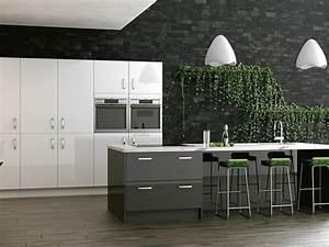 Cuisine gris anthracite 56 idees pour une cuisine chic for Meuble de salle a manger avec gris anthracite cuisine