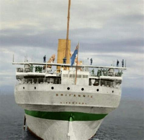 Rms Olympic Sinking U Boat by Hmhs Britannic Hmhs Brittanic