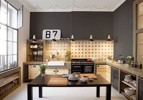 Industrial Style Kitchen by 32 Industrial Style Kitchens That Will Make You Fall In