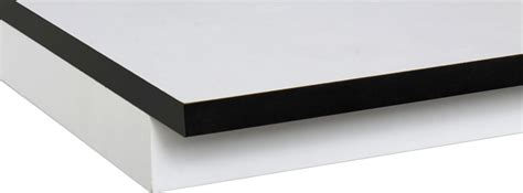 L Desk by Decors Plans De Travail Stratifi 233 Compact Sur Mesure