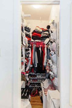 Narrow Walk In Closet Organization Ideas by Narrow Walk In Closet Fabulous Spaces
