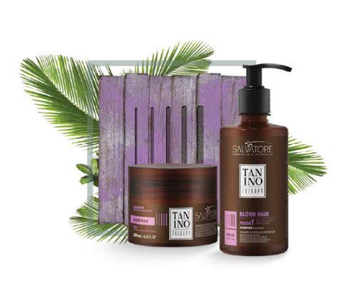 Tanino Therapy šampuns un matu maska blondiem matiem ...