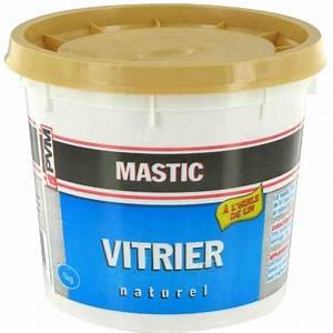 Mastic De Vitrier : mastic vitrier pvm naturel pot 1 kg de mastic vitrier ~ Melissatoandfro.com Idées de Décoration