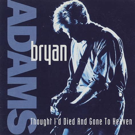 Bryan Adams  Thought I'd Died And Gone To Heaven (cd) At