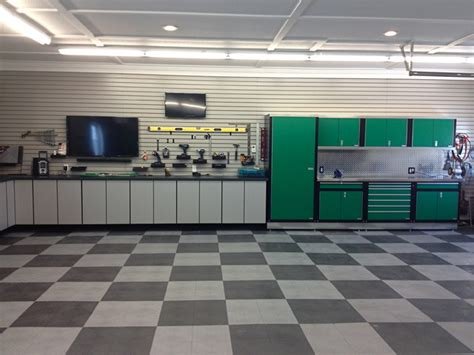 Racedeck Garage Flooring Tiles by Racedeck Garage And Shed With Floor Tiles Garage Cabinets