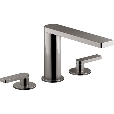 Kohler Bathroom Tub Faucets by Kohler Composed 8 In Widespread 2 Handle Lever Handle