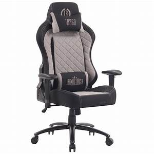 fauteuil gaming maxime tissu design exclusif confortable With fauteuil tissu confortable