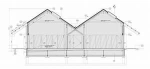 Plano de sección transversal. Parrish Art Museum by Herzog ...