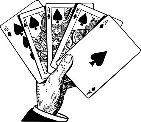 poker clipart poker hand poker poker hand transparent