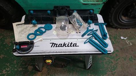 makita router table  excellent condition