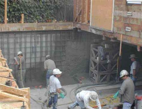 retrofitting basements jlc  basement foundation