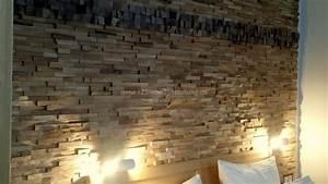 Die Neue Wand : moderne holzverkleidungen im hotel mit der holzpaneele gently eiche ~ Markanthonyermac.com Haus und Dekorationen