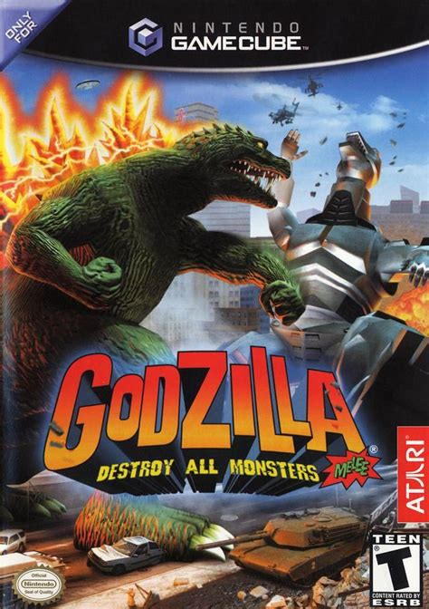 Fanpop community fan club for godzilla fighting games fans to share, discover content and connect with other fans of godzilla fighting games. Godzilla Destroy All Monsters Melee Gamecube Game