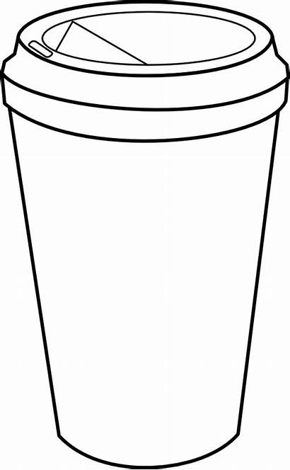 Clipart Starbucks Svg Outline Coffee Mug Transparent