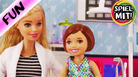 Isabel Bekommt Blöden Wackelzahn Gezogen  Barbie Zahnarzt