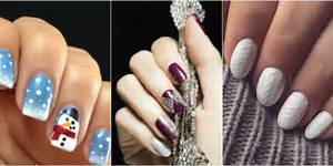 Winter nail art ideas designs for new year s and