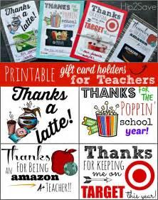 Free Printable Teacher Appreciation Gift Card