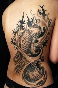 Koi Tattoo Vorlagen : koi tattoo tattoo ~ Frokenaadalensverden.com Haus und Dekorationen