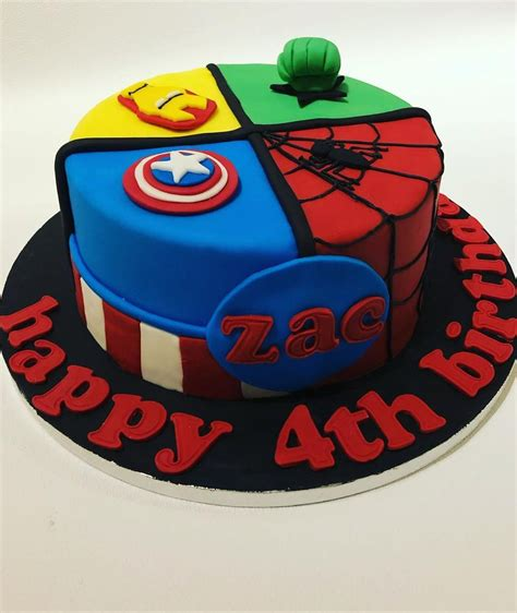 Check out our marvel cake selection for the very best in unique or custom, handmade pieces from our centerpieces & table there are 1366 marvel cake for sale on etsy, and they cost $10.34 on average. Best Avengers Birthday Cakes Ideas And Designs 2020,simple ...