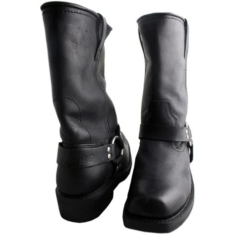 style motorcycle boots weise cowboy waterproof cruiser style touring motorbike