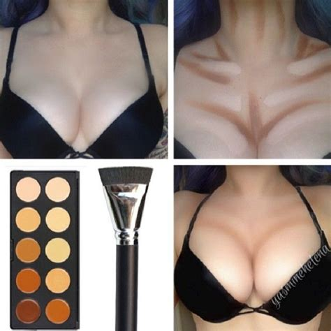 top   body makeup contouring guide top inspired